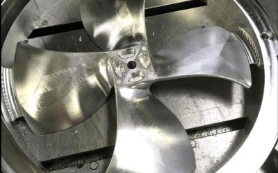 Prototype Machining Fan